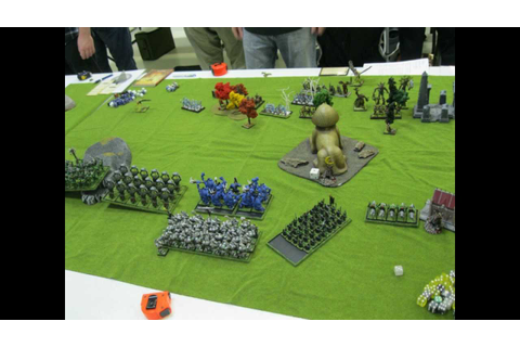 Onslaught Game 1: Orcs vs Wood Elves 2012 10 20 - YouTube