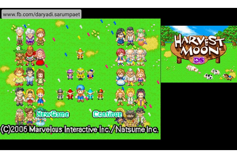 Harvest Moon DS NDS Game Review on Android | Indo PhoneBoy