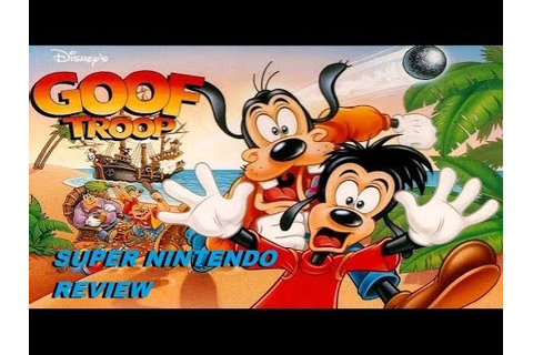 Goof Troop Game Review (Super Nintendo) - YouTube
