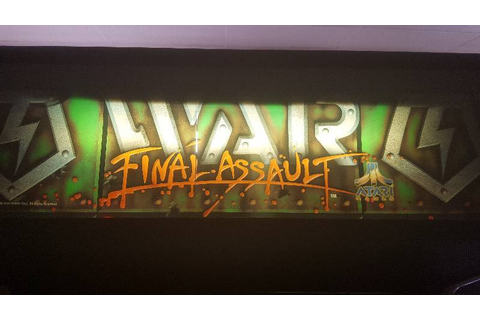 War: Final Assault Arcade Game | Maple Lake Video Game ...