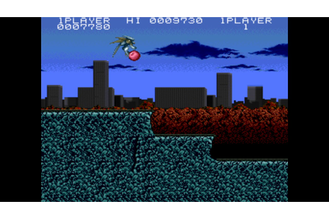 Act-Fancer: Cybernetick Hyper Weapon (1989) - Arcade Games ...
