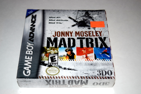 Jonny Moseley Mad Trix Nintendo Game Boy Advance New in ...
