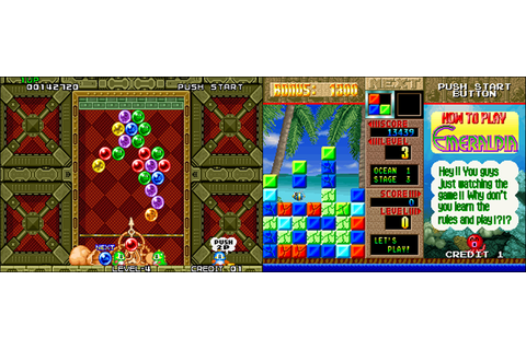 Puzzle Bobble VS Emeraldia US - Neo Geo, Arcade & Retro Games