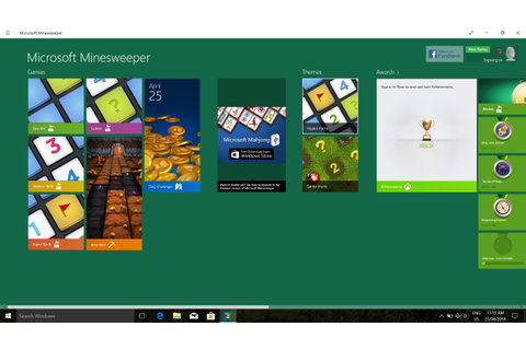 Some Microsoft Casual Games interface text and icons too ...