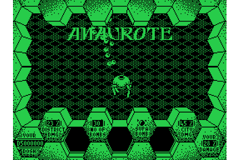 Amaurote (1987) by Binary Design MSX game