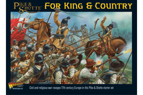 Pike & Shotte - For King & Country Range - Warlord Games