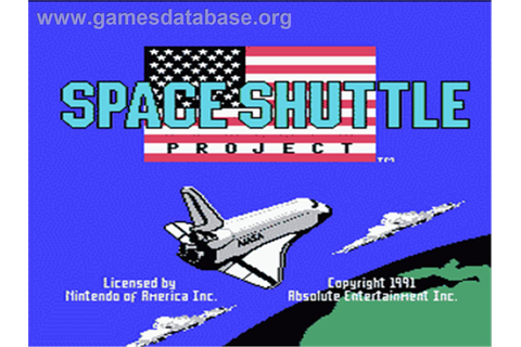 Space Shuttle Project - Nintendo NES - Games Database