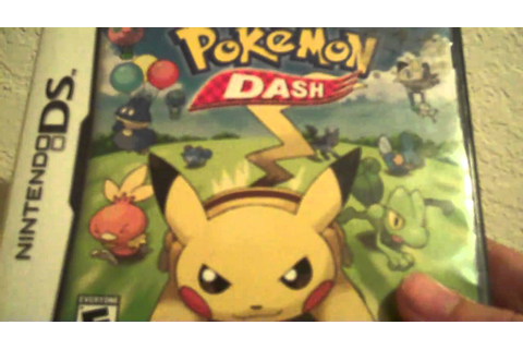 mojoshow's video game review: Pokemon dash DS - YouTube