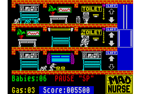 VGJUNK: MAD NURSE (ZX SPECTRUM)