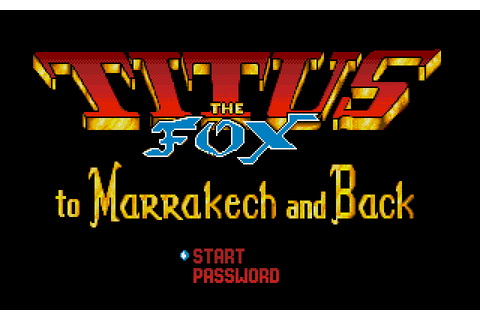 Titus the Fox: To Marrakech and Back (1992) by Titus MS ...