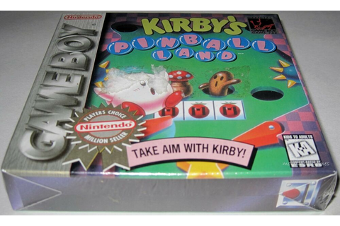 Kirby's Pinball Land (Game Boy) ..NEW-SeaLED!! h-seam ...