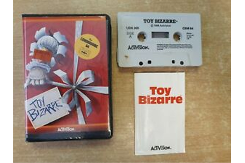 Toy Bizarre Commodore 64 C64 Computer Game Boxed Clam ...