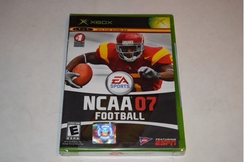 NCAA Football 07 Microsoft Xbox Video Game New Sealed