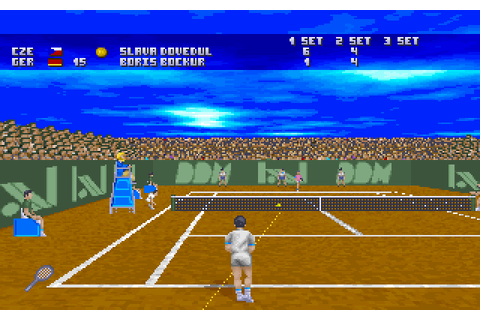 Virtual Tennis (1996) by Digital Dreams Multimedia MS-DOS game