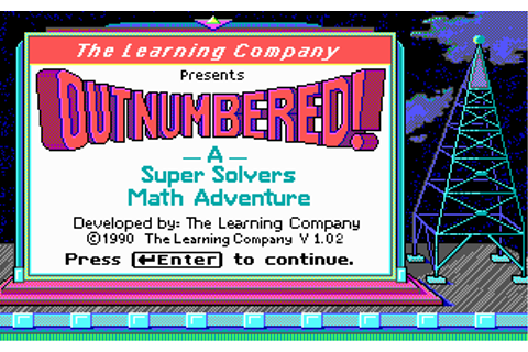Download Super Solvers: Outnumbered! - My Abandonware