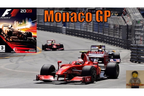 F1 2009 Game: Monaco (GP Weekend) - YouTube