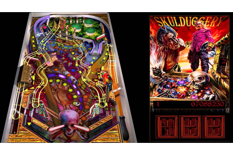 Full Tilt! Pinball - Skulduggery - YouTube