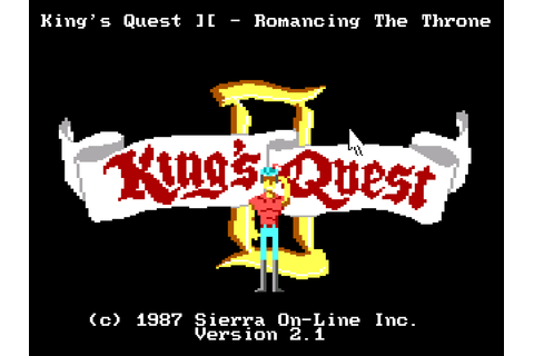 King's Quest II: Romancing the Throne – Sierra Classic Gaming