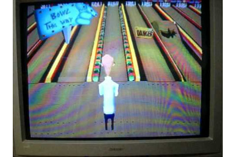 Animaniacs Ten Pin Alley Playstation 2nd Run Game 1 Part 1 ...