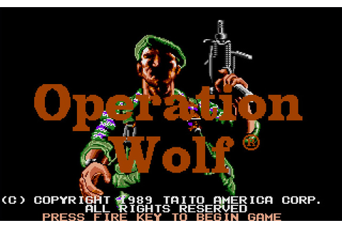 Download Operation Wolf shooter for DOS (1989 ...
