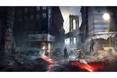 Wallpaper The Division, Tom Clancy's, game, apocalypse ...