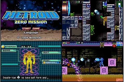 [GBA] Metroid - Zero Mission (E) | Top Game Retro