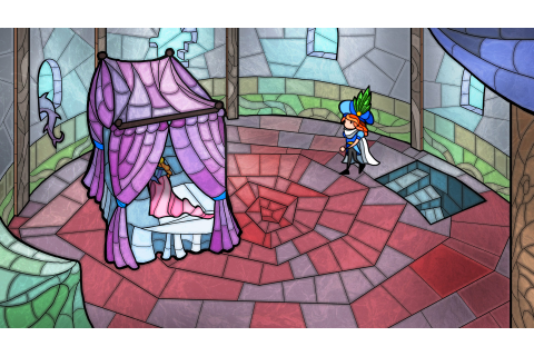 Little Briar Rose ~ A stained glass-styled adventure game