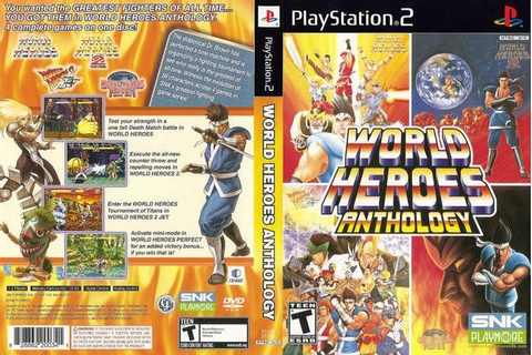 World Heroes Anthology Ps2 - $ 1,500.00 en Mercado Libre