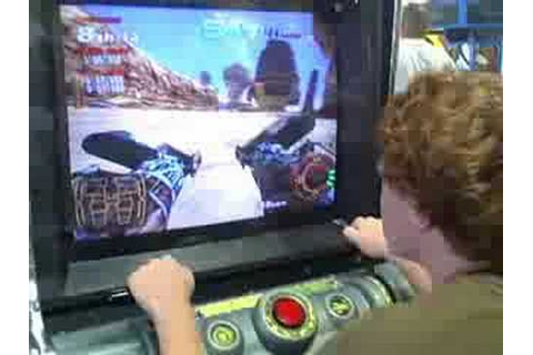 me playing star wars pod racers in an arcade - YouTube