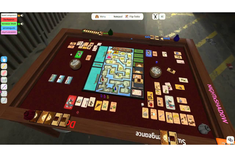 First look at Tabletop Simulator Steam Game - YouTube