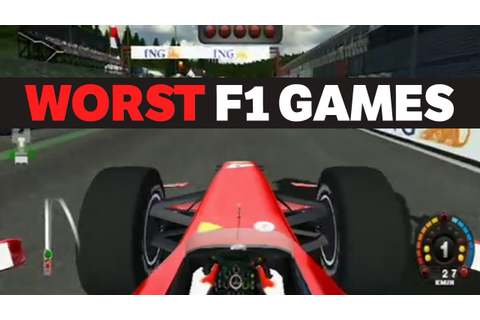 The Top 5 Worst F1 Games In History - YouTube