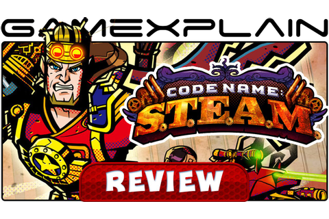 Code Name: S.T.E.A.M. - Video Review (3DS) - YouTube