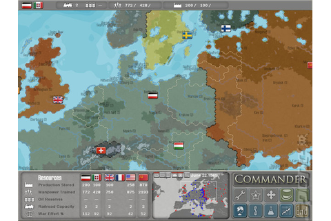 Screens: Military History Commander: Europe At War - PC (4 ...
