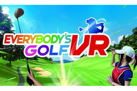Everybody's Golf PSVR REVIEW - A fore! star PlayStation VR ...