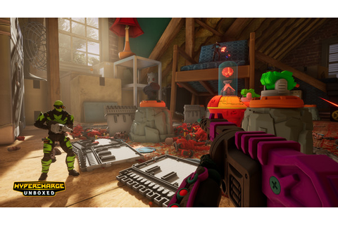 Co-op tower defense first-person shooter Hypercharge ...