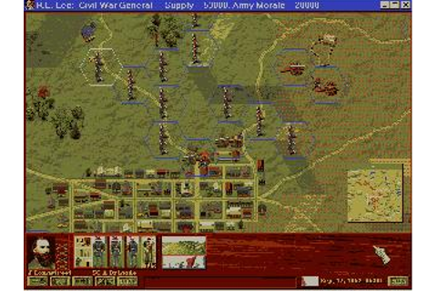 Robert E. Lee Civil War General + Manual PC CD move ...