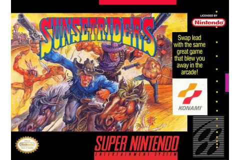 Sunset Riders Review - SNES | Nintendo Life