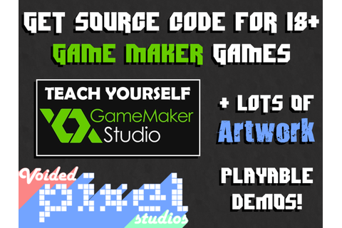 Get Source Code for Over 18 Game Maker Games by Adam ...