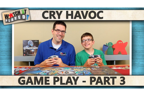 Cry Havoc - Game Play 3 - YouTube