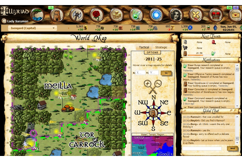 Illyriad Facebook Game | Get Pixelated