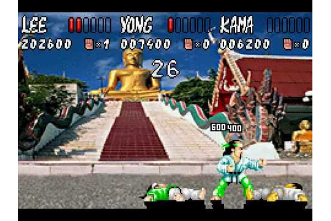 Game Boy Advance Longplay [093] International Karate ...