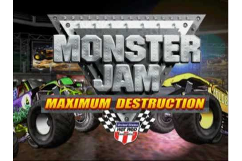 Monster Jam: Maximum Destruction (PS2 Gameplay) - YouTube