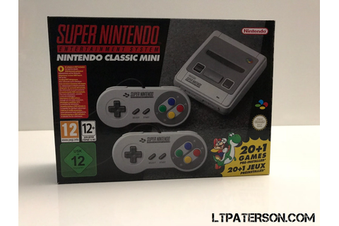 Unboxing de la Super Nintendo mini | Ltpaterson.com Blog ...