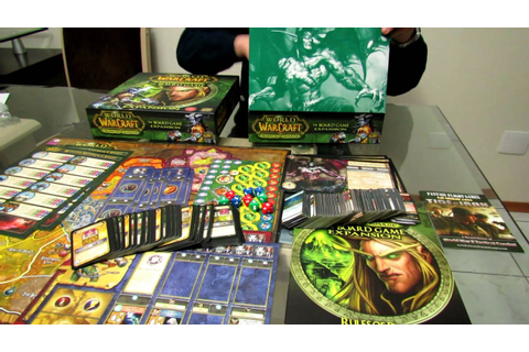World of Warcraft The Board Game - Unboxing em Portugues ...