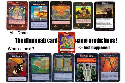 ILLUMINATI CARD GAME - Untara Elkona