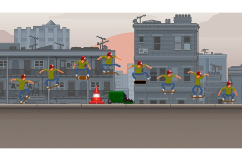 Super Stylish Skateboard Sim OlliOlli Slides onto the PS4 ...