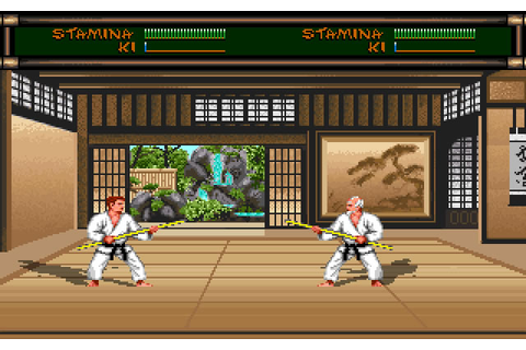 Download Budokan: the martial spirit action for DOS (1989 ...