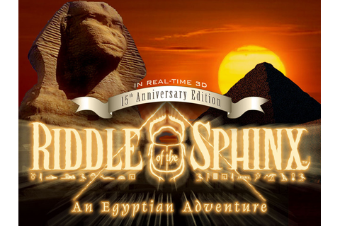 Riddle of the Sphinx: An Egyptian Adventure in Real-time ...