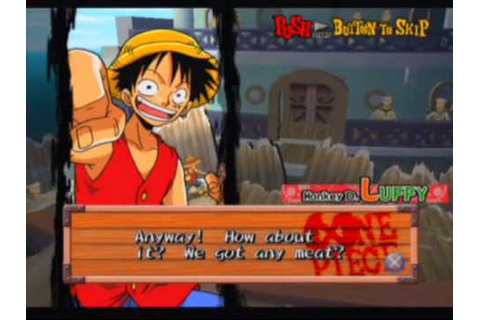 One Piece: Grand Battle Game Sample - Playstation 2 - YouTube