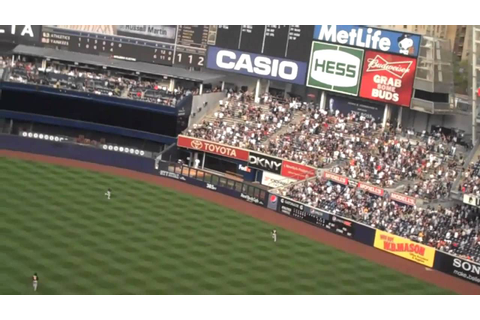 Two Yankee Grand Slams in One Game - YouTube